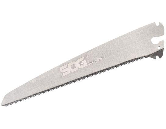 SOG Folding Bone Saw Blade Only, 8.25 inch Satin Carbon Steel