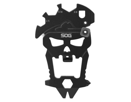 SOG MacV Tool, 12 Component Skull Multi-Tool, 2.5 inch Overall