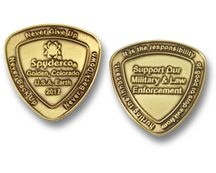 Spyderco Challenge Coins