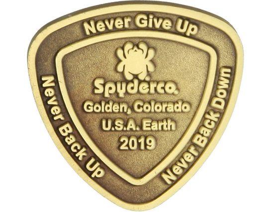 Spyderco SpyderCoin 2019 Challenge Coin