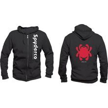 Spyderco Unisex Hooded Sweatshirt, Black, Large