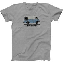 Spyderco Bread Truck Unisex T-Shirt, Heather Gray, Large