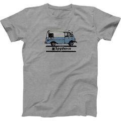 Spyderco Bread Truck Unisex T-Shirt, Heather Gray, Large