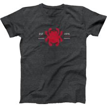Spyderco Bug Logo Unisex T-Shirt, Heather Graphite, Large