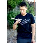 Squid Industries T-Shirt - Black with  Squidtrainer Logo, X-Large