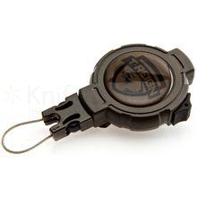 T-REIGN Heavy Duty Retractable Gear Tether, 48 inch Kevlar Cord, Clip Attachment