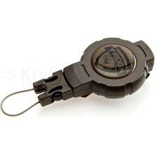 T-REIGN Small Retractable Gear Tether, 24 inch Kevlar Cord, Clip Attachment
