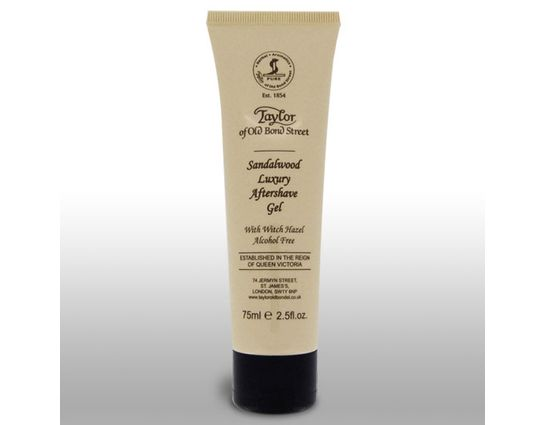 Taylor of Old Bond Street Sandalwood Luxury Aftershave Gel 2.5 oz (75ml)