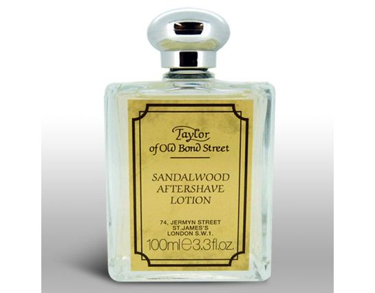 Taylor of Old Bond Street Luxury Sandalwood Gentleman's Aftershave Lotion 3.38 oz (100ml)