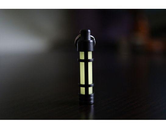 TEC Accessories Embrite S3 Glow Fob, Black Diamond Carbon