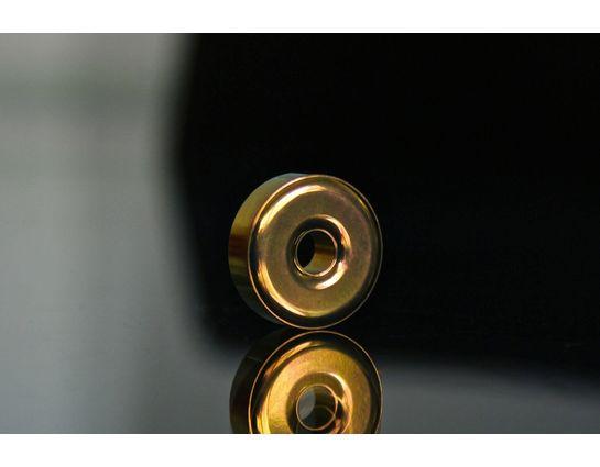 TEC Accessories R1 Titanium Lanyard Bead, Apricot