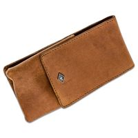 Timor Vintage Safety Razor Leather Sheath 5 inch Overall, Brown
