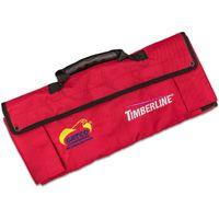 Timberline Red Ballistic Nylon Knife Roll, Holds 12 Folding Knives