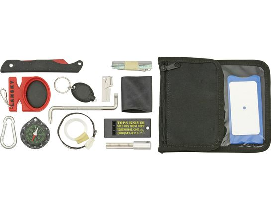 TOPS Knives SNW-01 Survival Neck Wallet