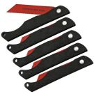 TOPS Knives Pocket Survival Folding Saws, 5 Pack