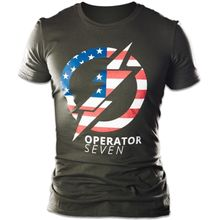 TOPS Knives Operator T-Shirt, OD Green, 2X-Large