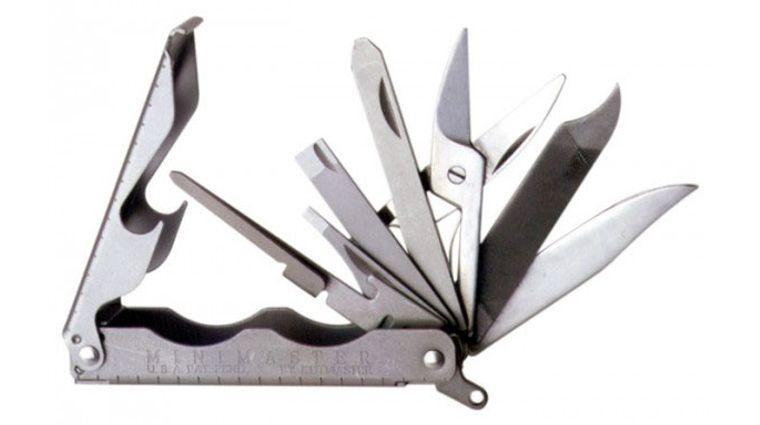 Utica MiniMaster 16 Function Key Ring Size Multi-Tool, Imported