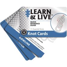 UST Ultimate Survival Learn & Live Knot Cards