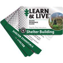 UST Ultimate Survival Learn & Live Shelter Building Cards