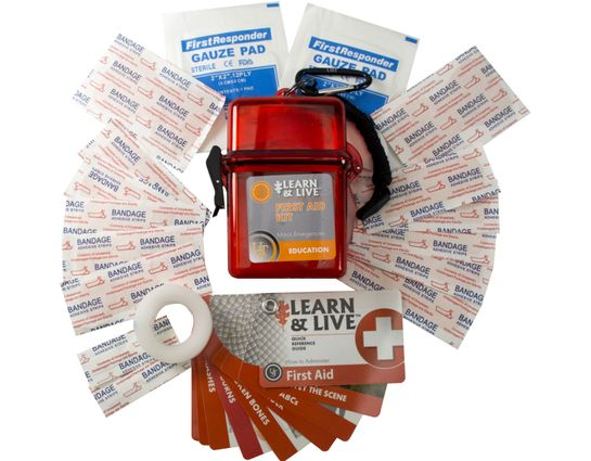 UST Ultimate Survival Learn & Live First Aid Kit