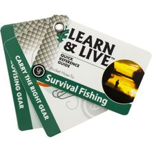 UST Ultimate Survival Learn & Live Survival Fishing Cards