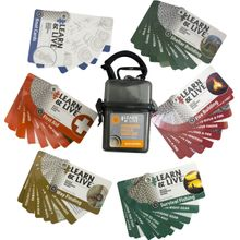 UST Ultimate Survival Learn & Live Outdoor Skills Card Set