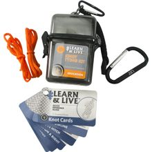 UST Ultimate Survival Learn & Live Knot Tying Kit