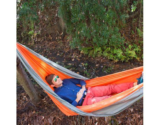UST Ultimate Survival SlothCloth Hammock 1.0, Orange/Gray