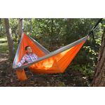 UST Ultimate Survival SlothCloth Hammock 2.0, Orange/Gray