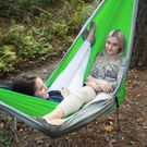 UST Ultimate Survival SlothCloth Hammock 2.0, Lime/Gray