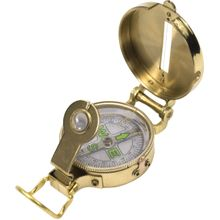 UST Ultimate Survival Heritage Lensatic Compass, Brass Casing