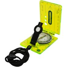 UST Ultimate Survival Hi Vis Lensatic Map Compass