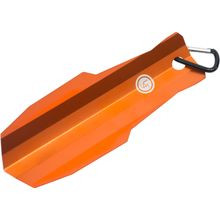 UST Ultimate Survival U-Dig-It Light Duty Aluminum Shovel with Carabiner, Orange