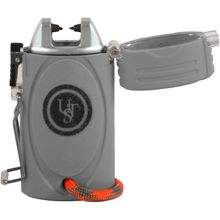 UST Ultimate Survival TekFire LED Fuel-Free Lighter with ParaTinder Lanyard, Gray