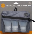 UST Ultimate Survival FlexWare Container Set + Mesh Zip Bag