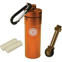 UST Ultimate Survival Stoke Kit Compact Sparking Kit with Tinder, Orange