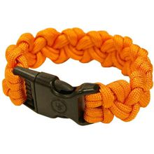 UST Ultimate Survival 550 Paracord Survival Bracelet with Basic Clasp, Orange