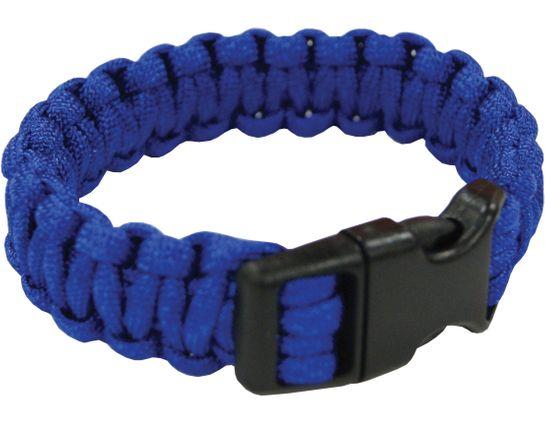 UST Ultimate Survival Paracord Survival Bracelet, Blue (20-295BB-26)