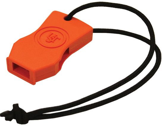 UST Ultimate Survival JetScream Micro Floating Safety Whistle, Orange