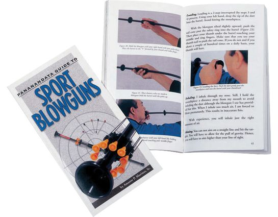 Pananandata Guide to Sport Blowguns by Amante P. Marinas, Sr.