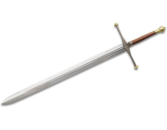 Valyrian Steel Game of Thrones Ice, Sword of Eddard Stark w/ Wooden Display Plaque