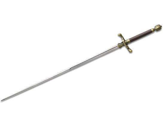 Valyrian Steel Game of Thrones Needle, Sword of Arya Stark w/ Wooden Display Plaque