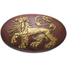 Valyrian Steel Game of Thrones Lannister Shield w/ Wall Mount