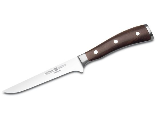 Wusthof Ikon 5 inch Boning Knife, Blackwood Handles