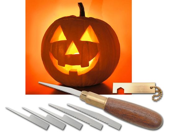 Warren Cutlery Pro Pumpkin Carving Set with 6 Top Quality Blades