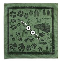 Wazoo Survival Gear Tracking Field Kit Bandana