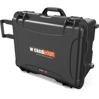 Wicked Edge WEHC3 Hard Rolling Carry Case with Retractable Handle