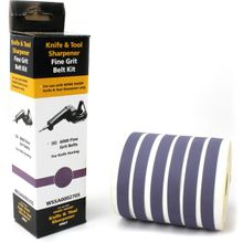 Work Sharp WSSA0002705 WSKTS 6000 Fine Grit Belt Kit, 6 Pack