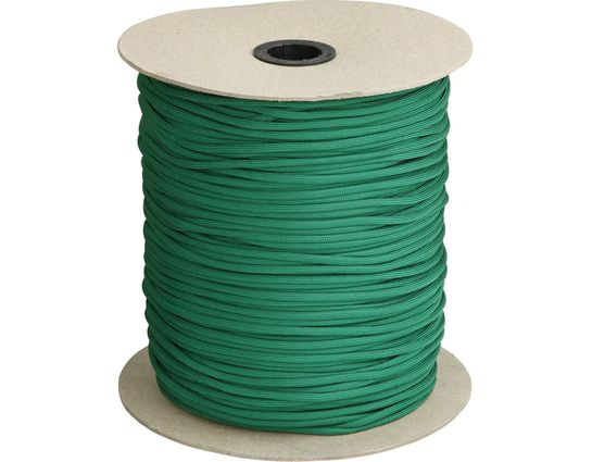 550 Paracord, Green, 1000 Feet Roll