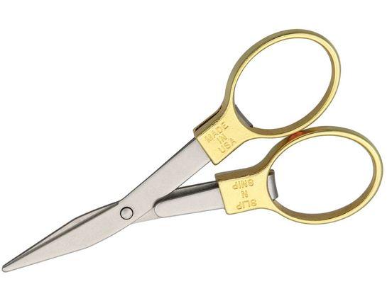 Slip-N-Snip The Original Folding Scissors, Gold